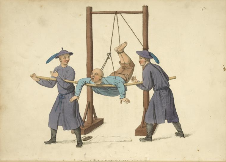Punishment of the swing