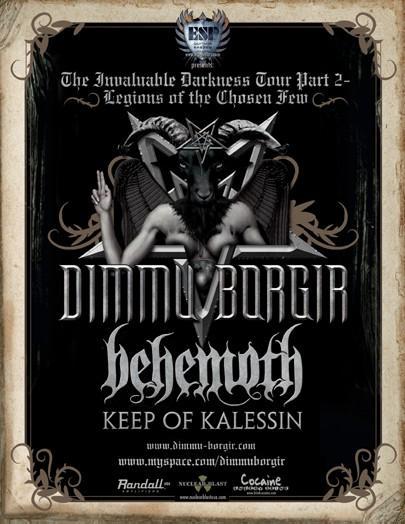 Dimmu Borgir and Behemoth 9:30 club